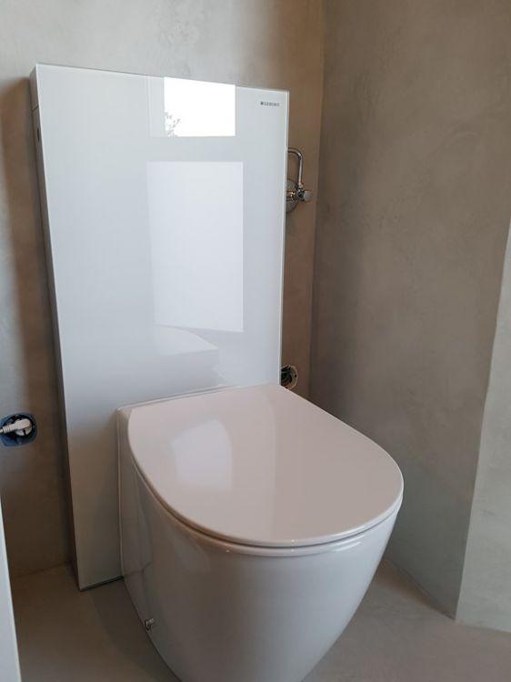 wc g b rit monolith et habillage en verre plombier chauffagiste lyon rep sarl. Black Bedroom Furniture Sets. Home Design Ideas